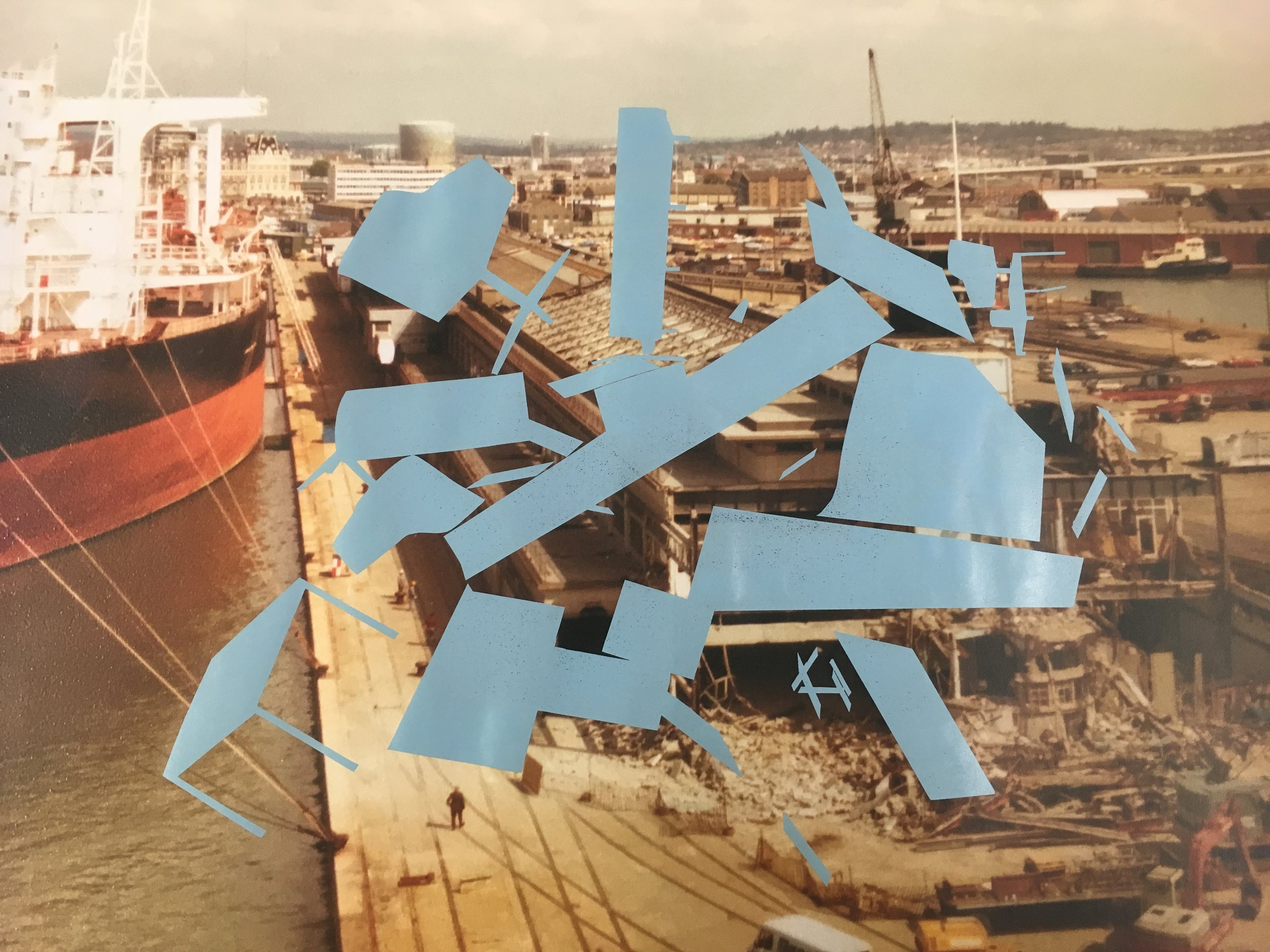 Susanna's illustrative research uses collage and archival photography