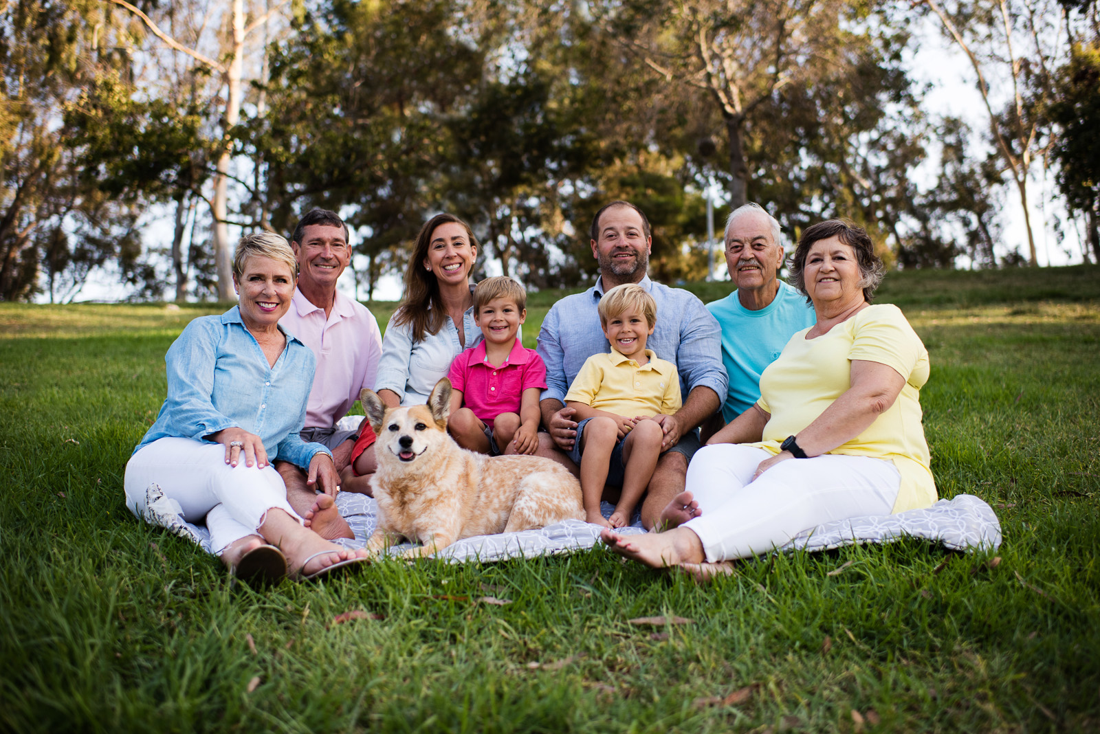 Reunion Family Session - 8 or more people, 60 minutes, 50 photo gallery, All photographs in gallery as a digital download — $800