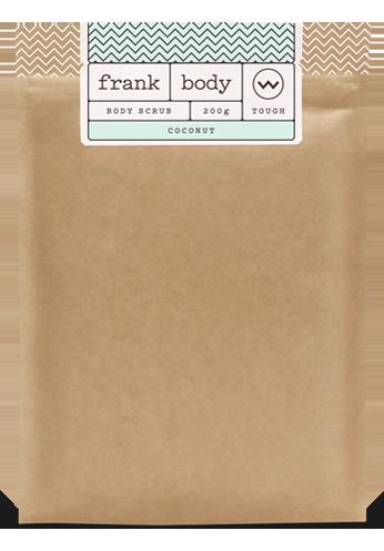 Coconut Coffee Scrub by Frank
