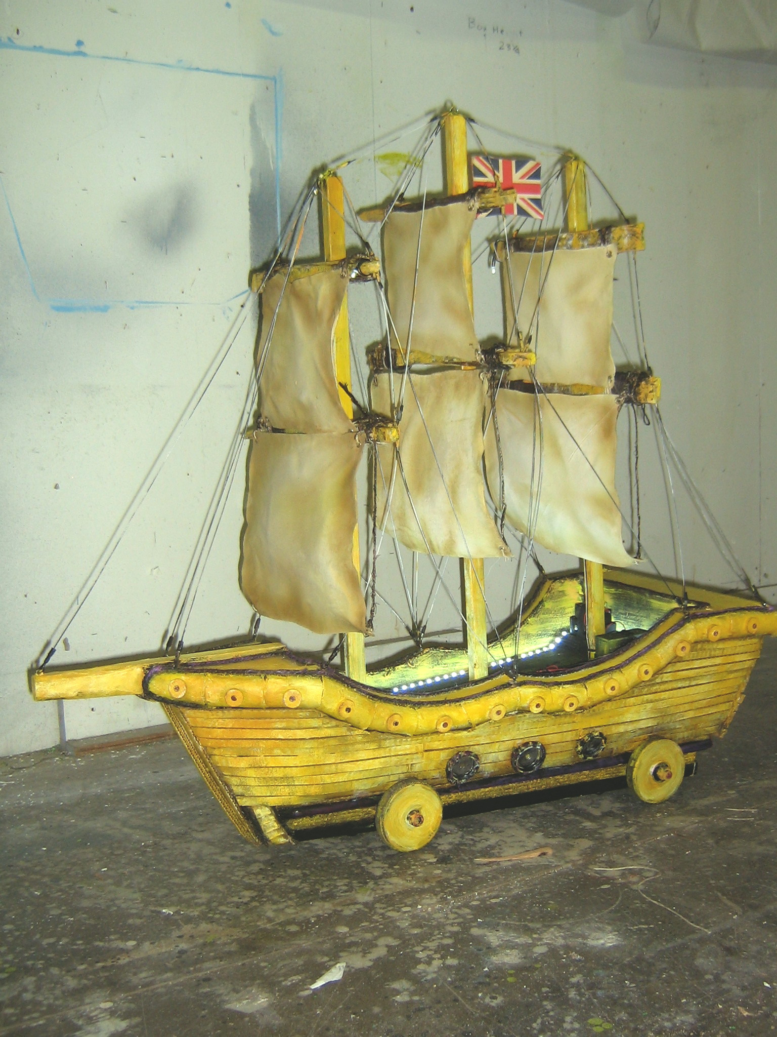 Wasp Boat ,Peter and the Star Catcher