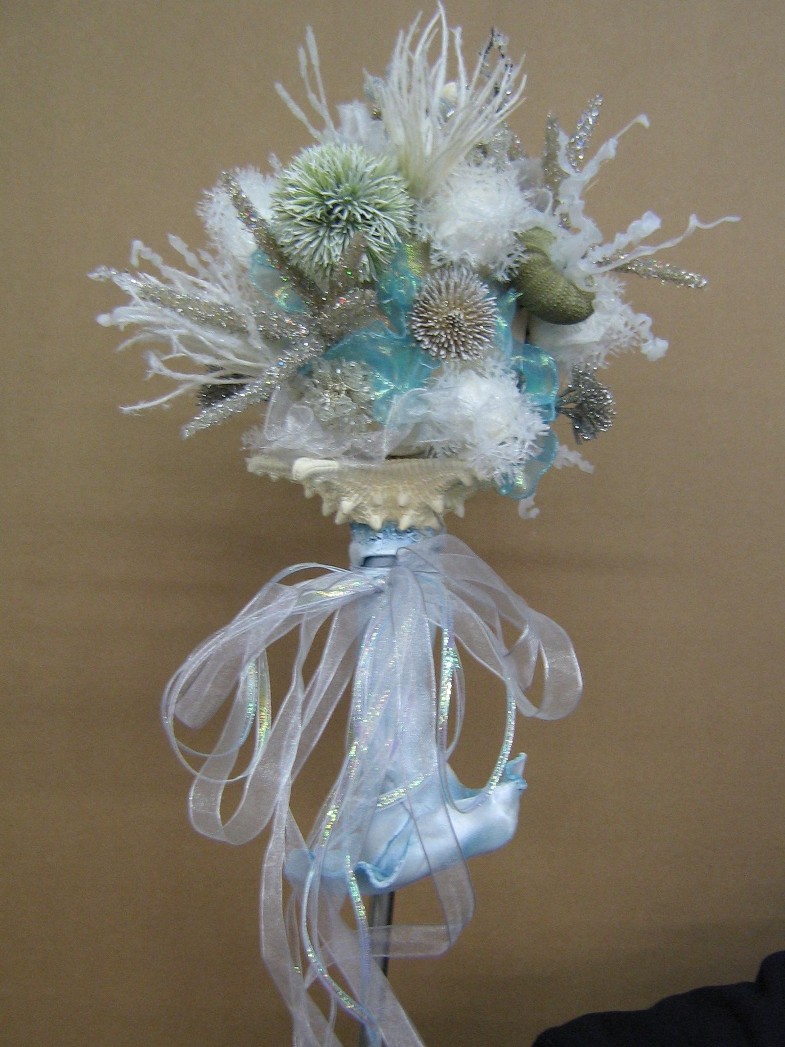 Little Mermaid Wedding Bouquet