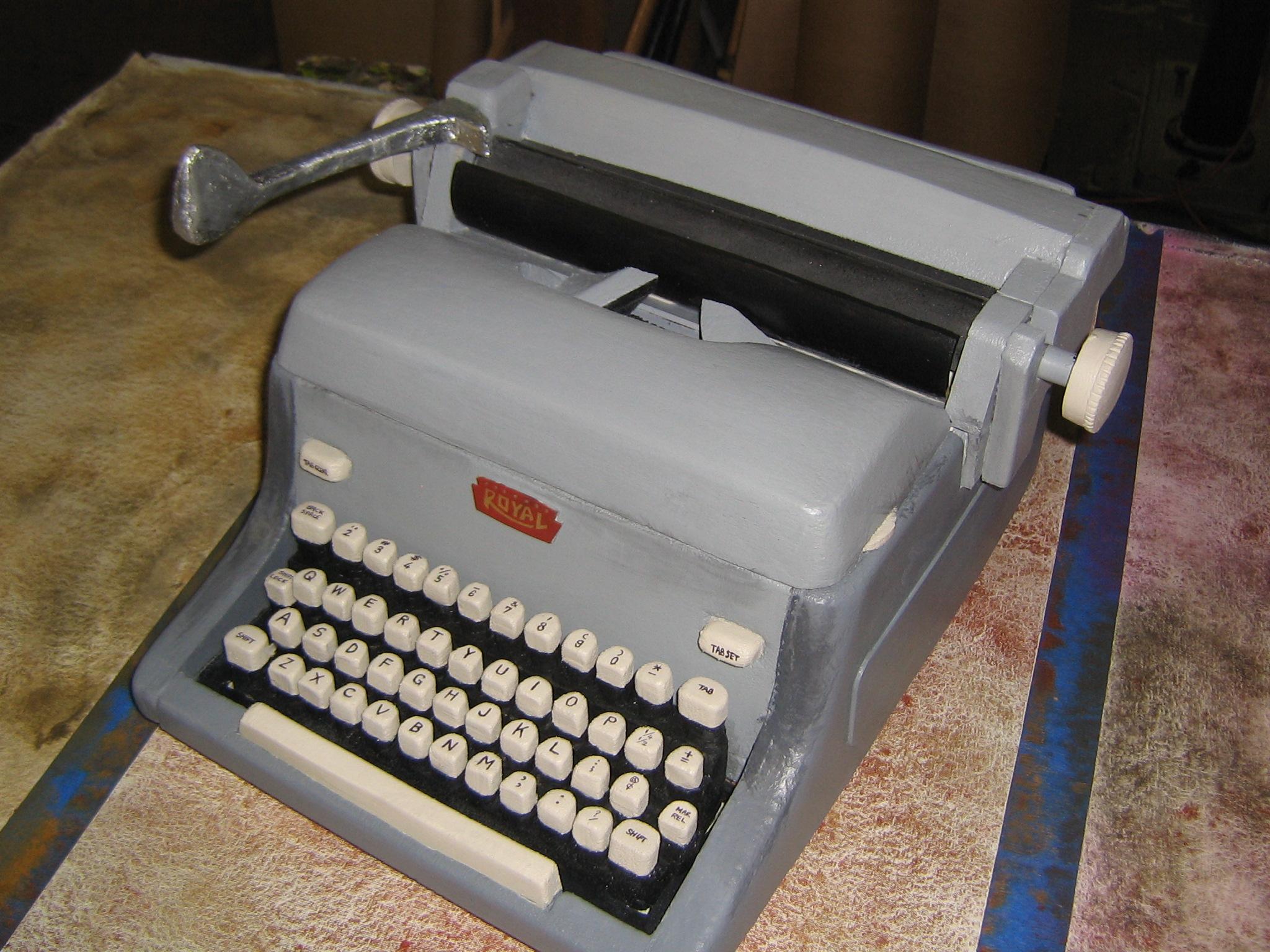 Misery Eva Foam Typewriter
