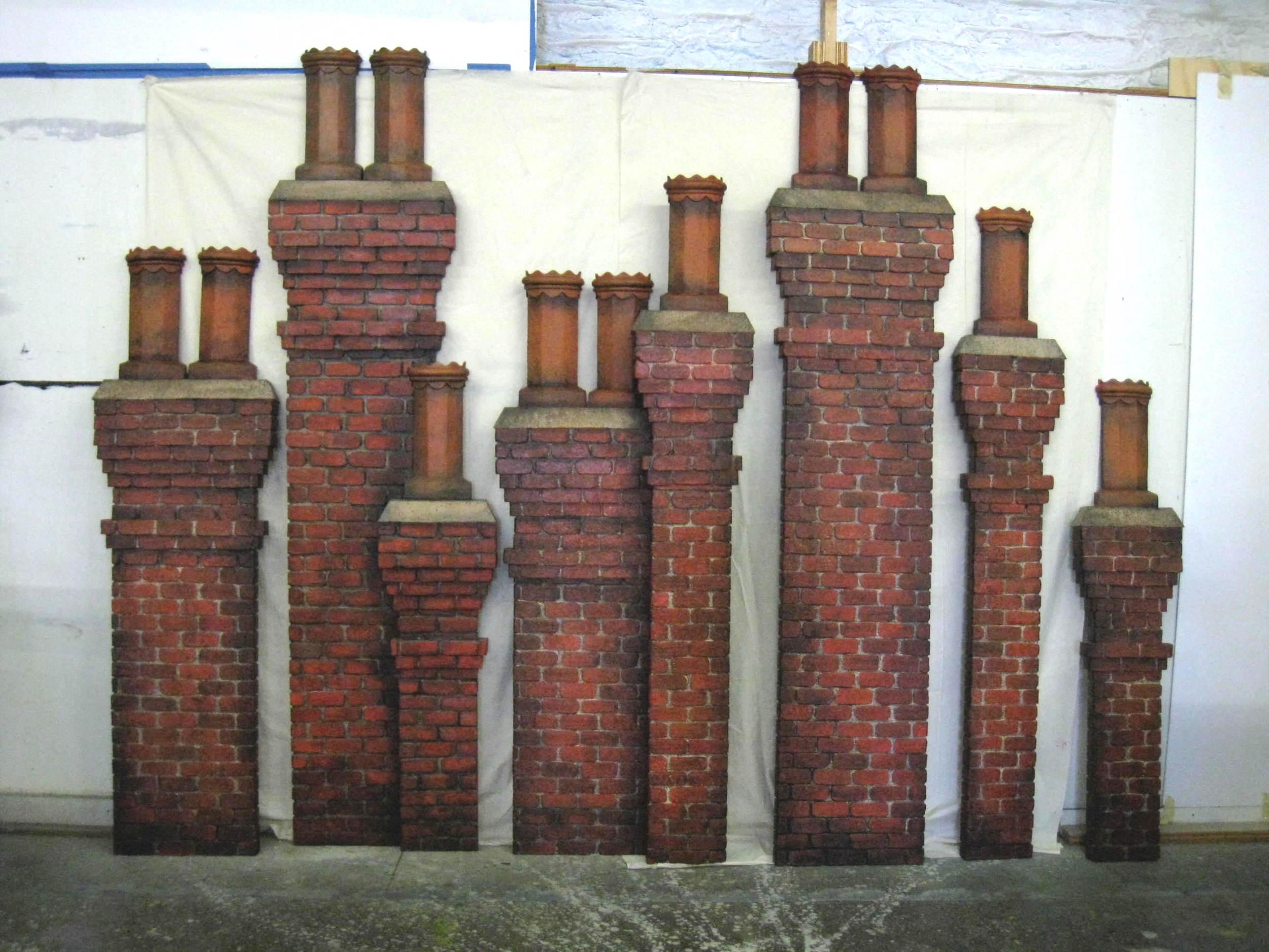 Walk Around Chimneys: The Addams Family