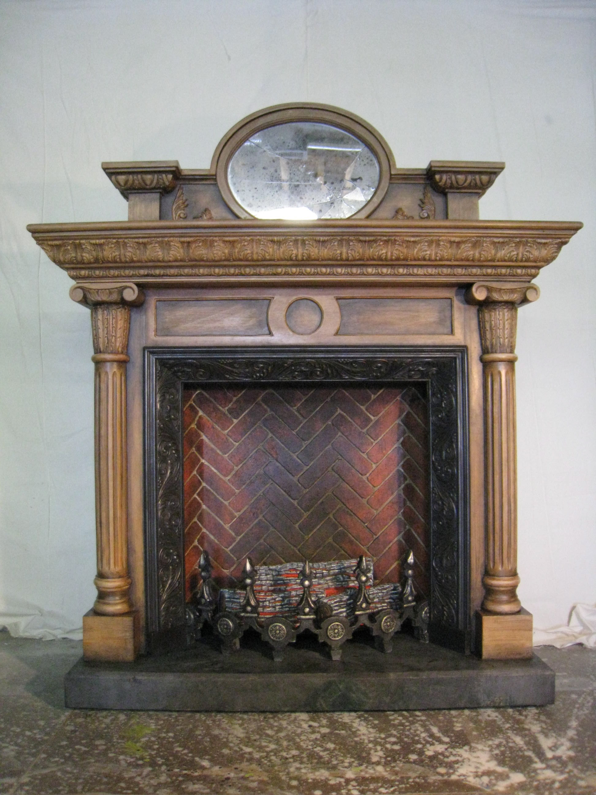 Fireplace: The Addams Family