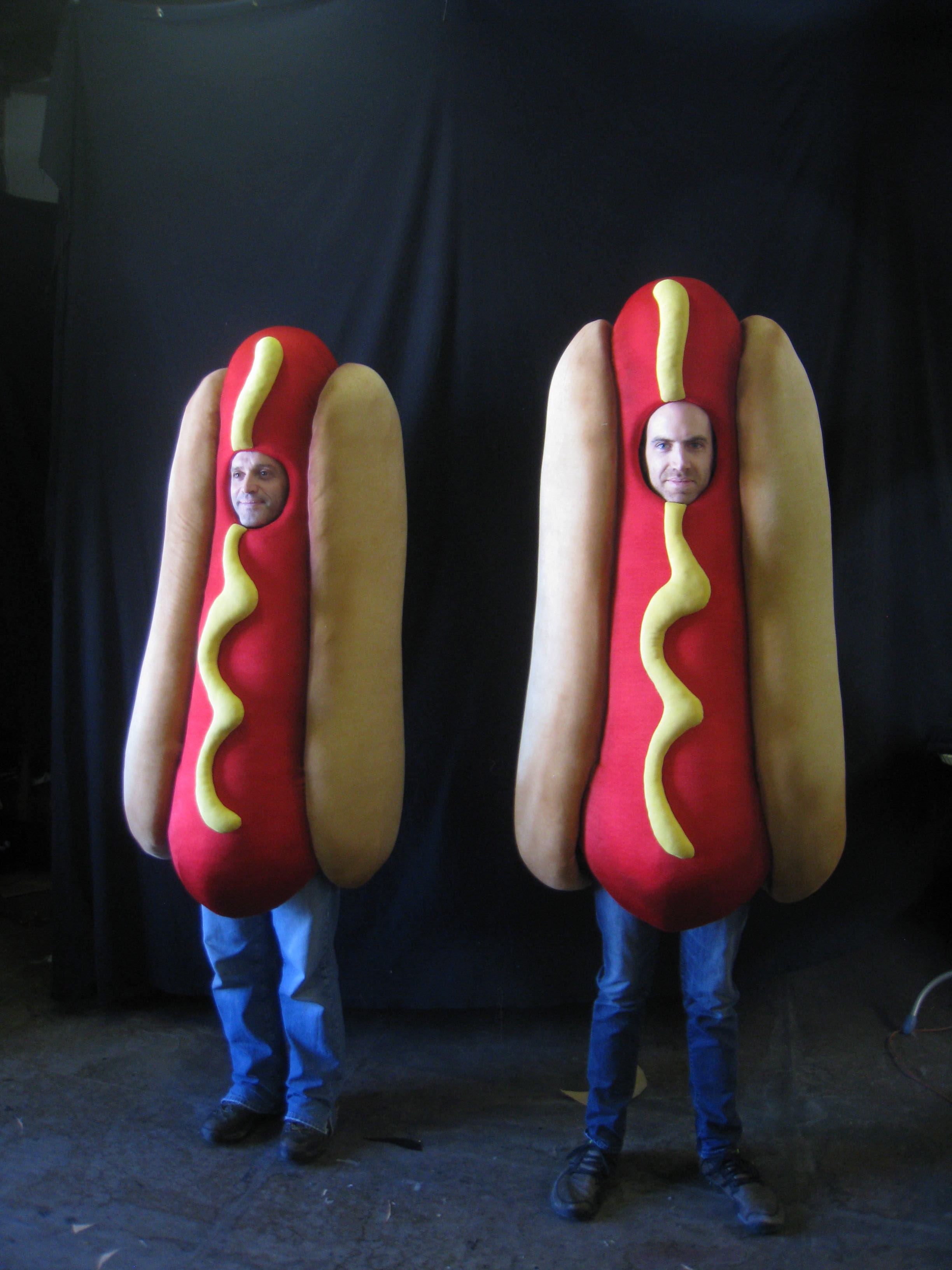 Bullets Hot Dog Costumes.JPG