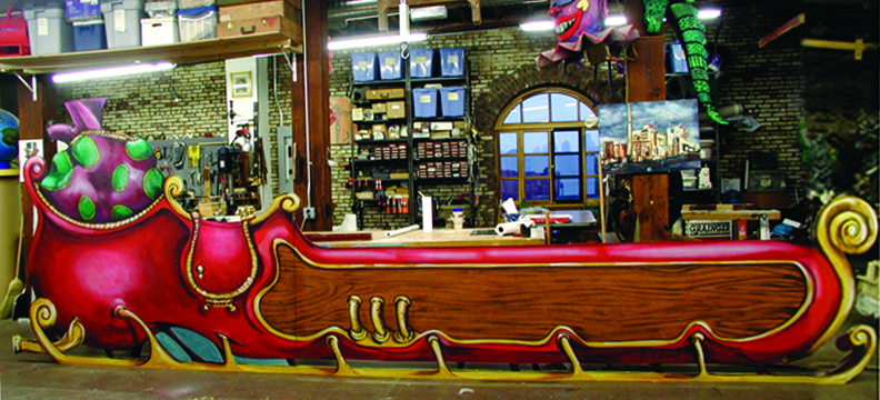 Santa's Sleigh, Radio City