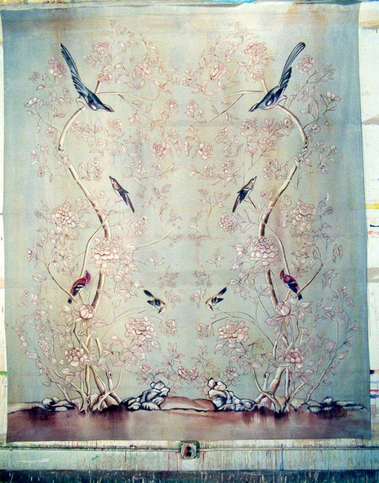 Birds on Gauze Backdrop, Bonnie Raitt Video VH1