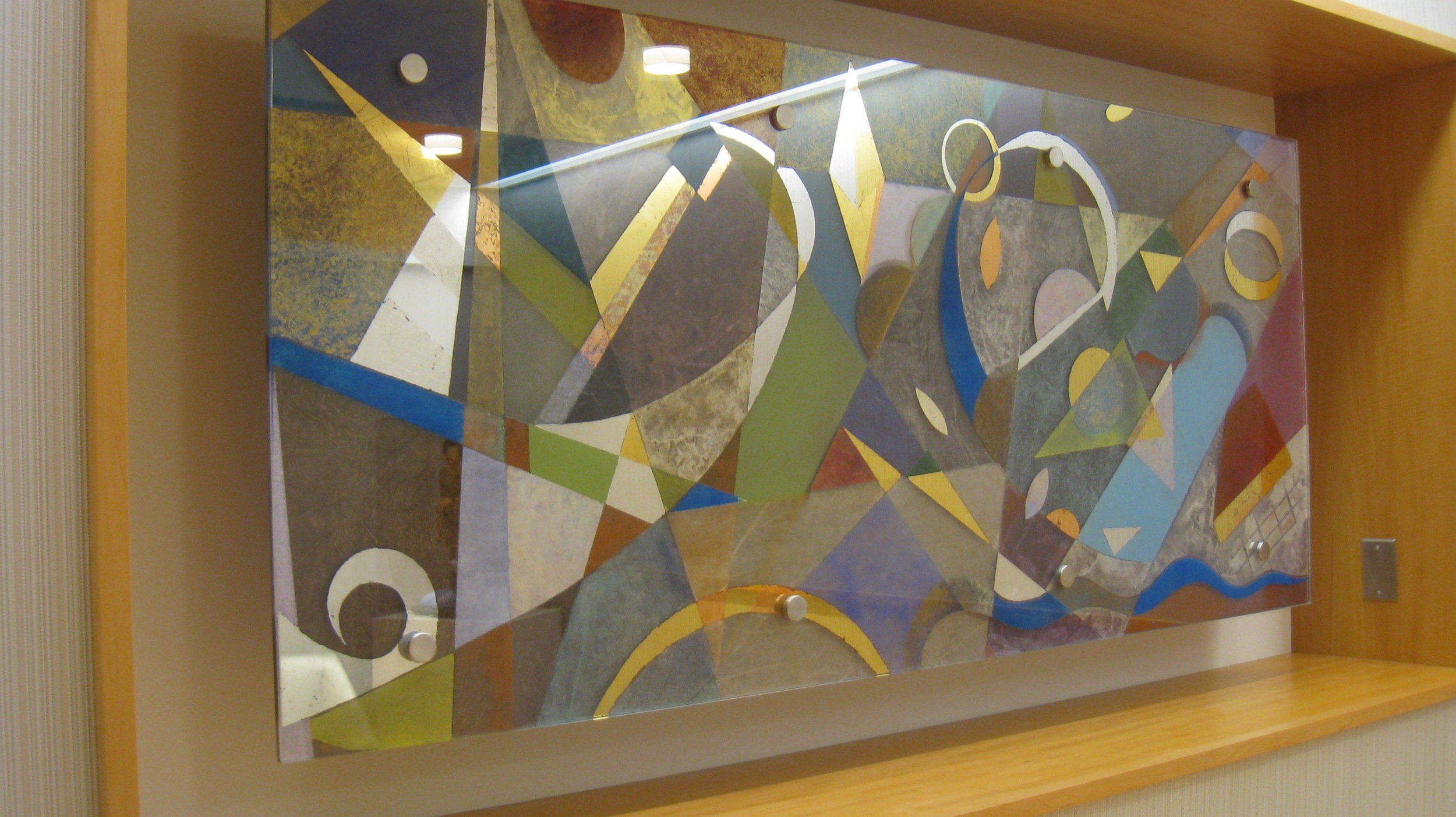 Art Glass Mural, Memorial Sloan Kettering