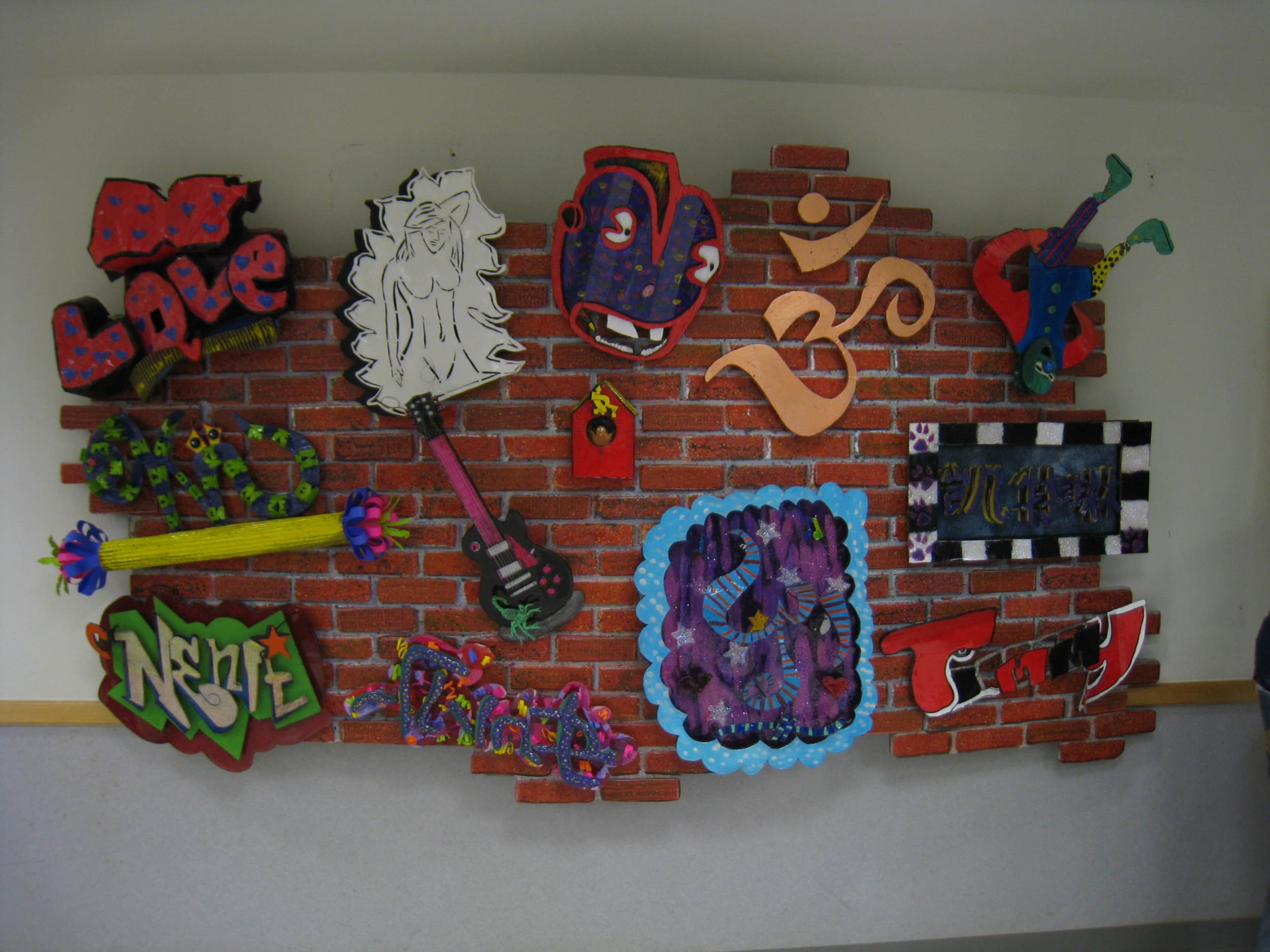 South Brooklyn Community High School Tag Wall