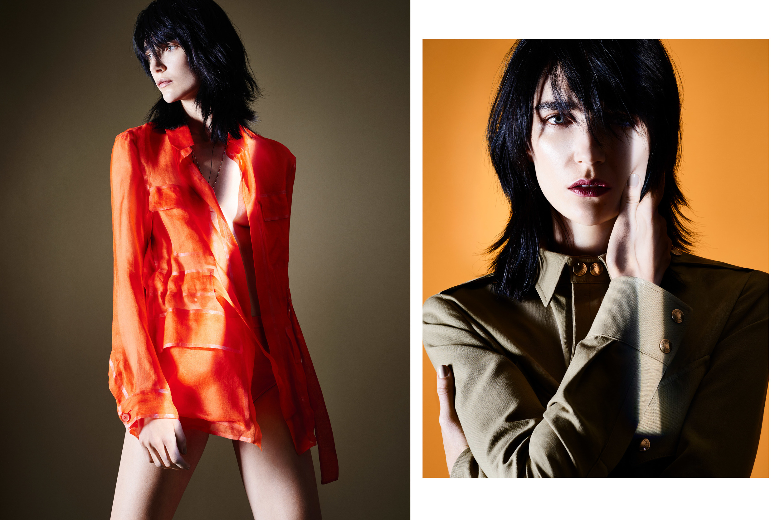 Vogue Brazil.  Ph: Daemian + Christine