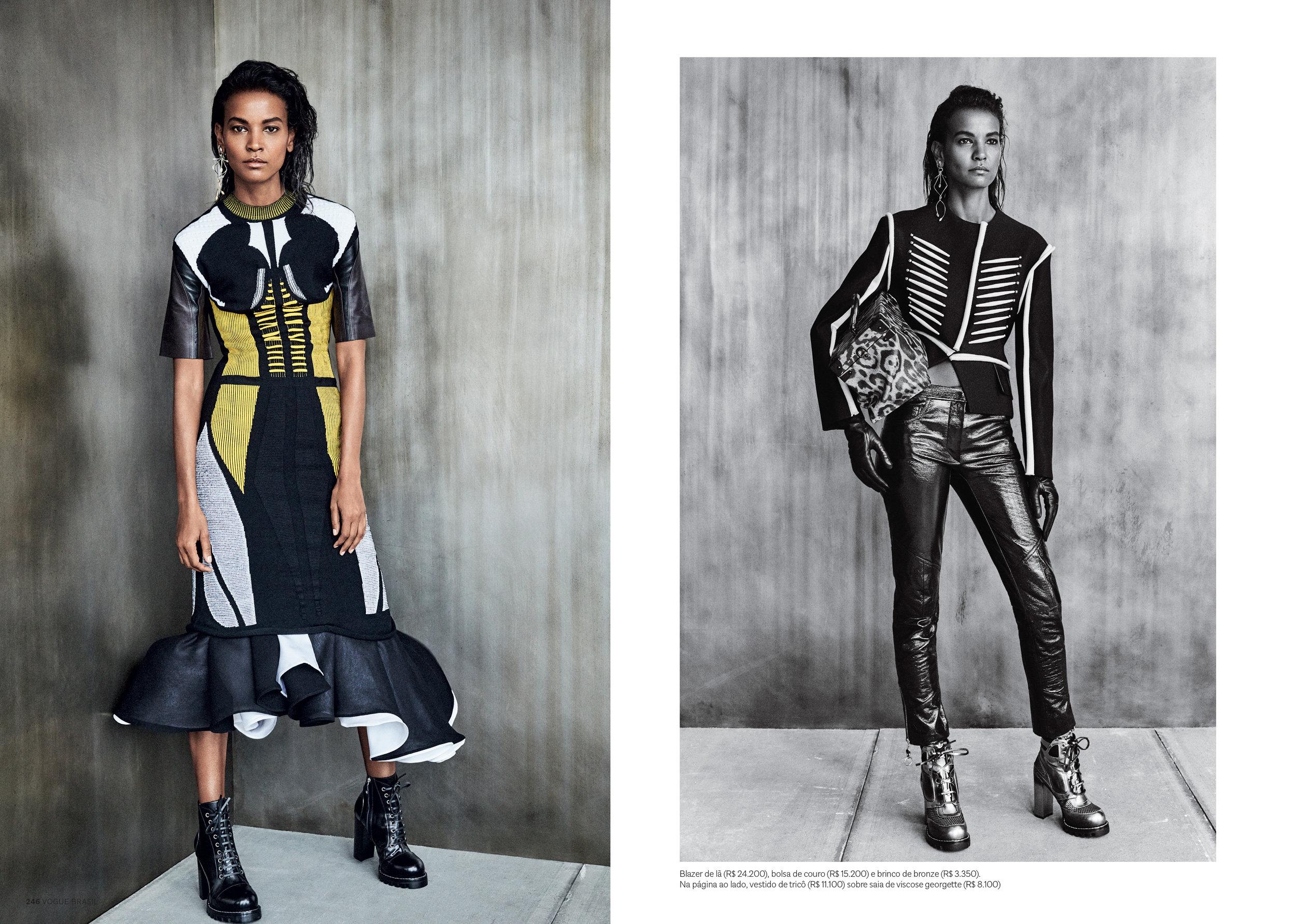 Vogue Brazil  Ph. Patrick Demarchelier