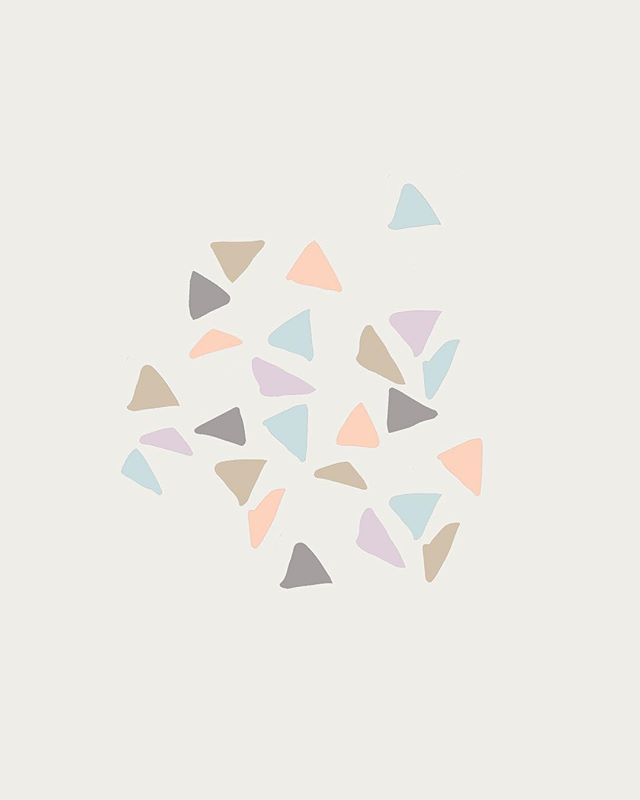 Hump Day Doodles // pastel colours are so yummy✌🏼// why not draw loads of triangles on a Wednesday? What else should I be doing? A lot actually... but everyone loves to procrastinate ✌🏼// . . #doodle #draw #triangle #humpday #design #studio #girl #pantone #colour #pastel #instagood #collectivelycreate #photooftheday #graphicdesign