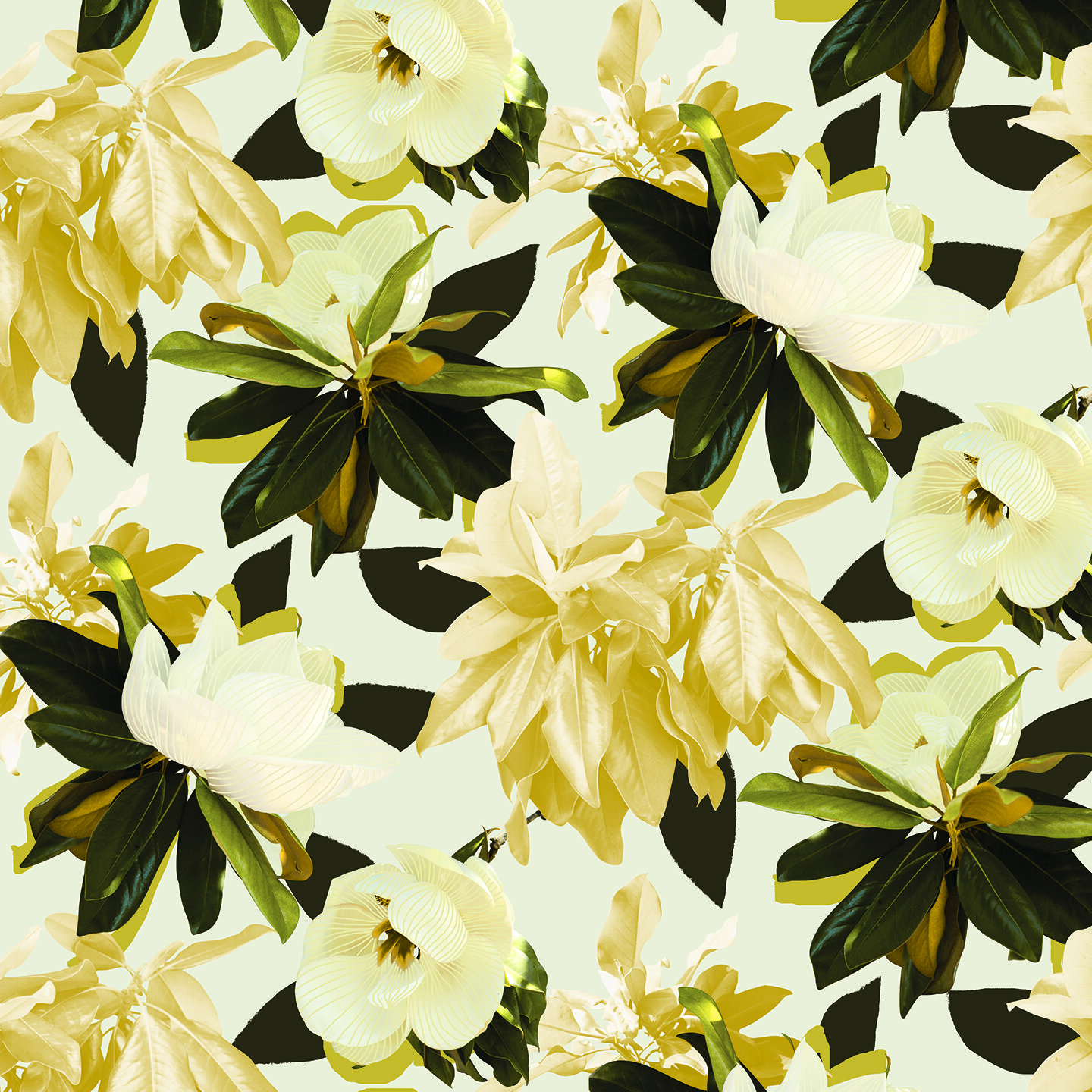 Magnolia Removable Fabric Wallpaper Peel And Stick Samantha