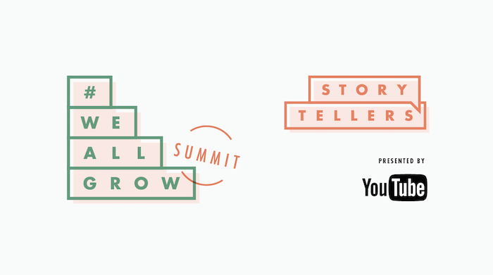 #WeAllGrow Storytellers YouTube