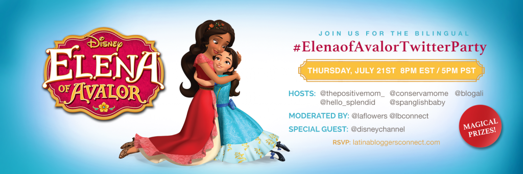 Elena of Avalor Twitter Party