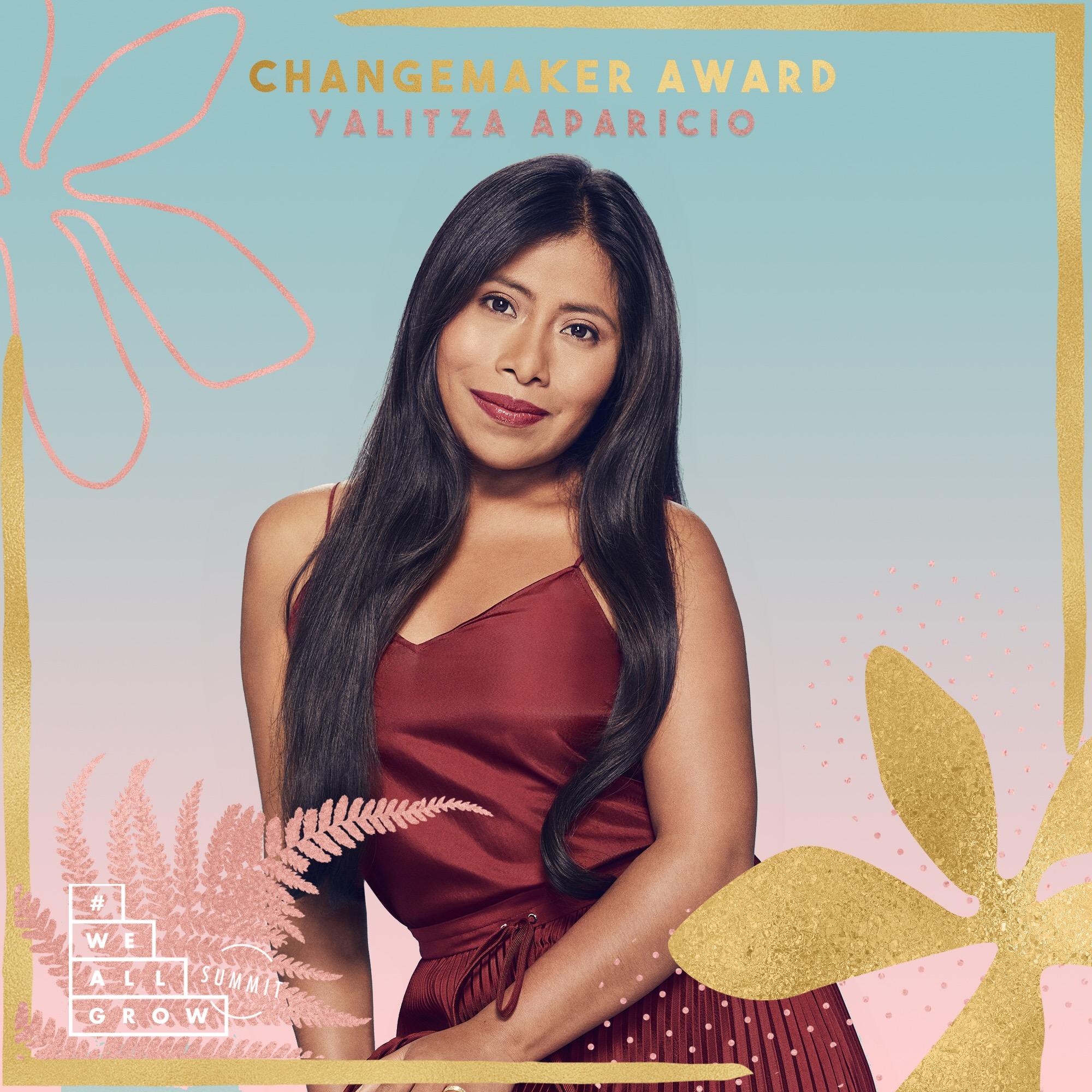Yalitza WeAllGrow  Changemaker Award