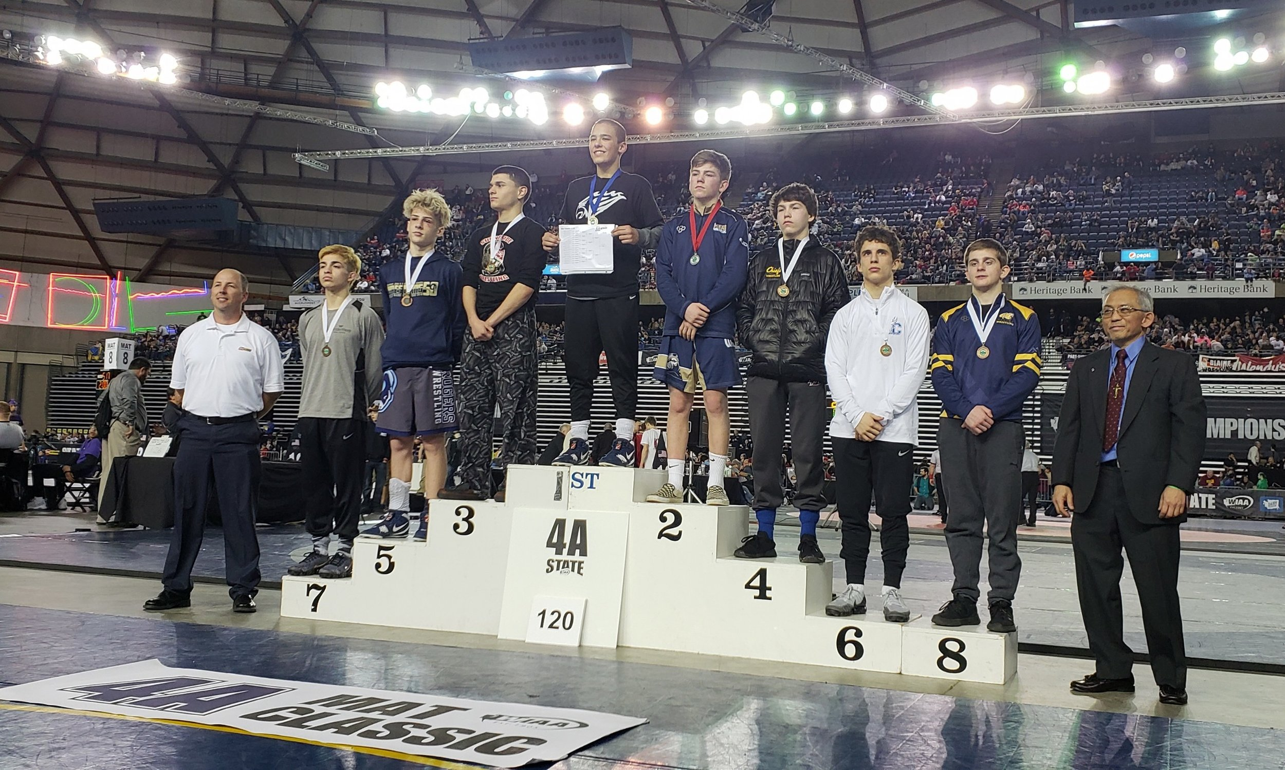 Braydon Hanson - 8th Place