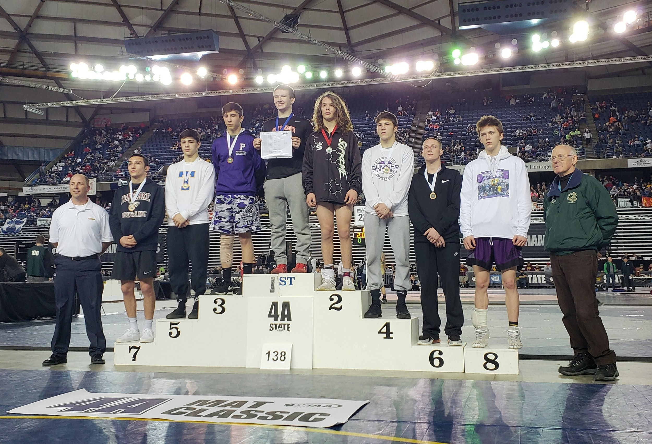 Steele Starren - 5th Place