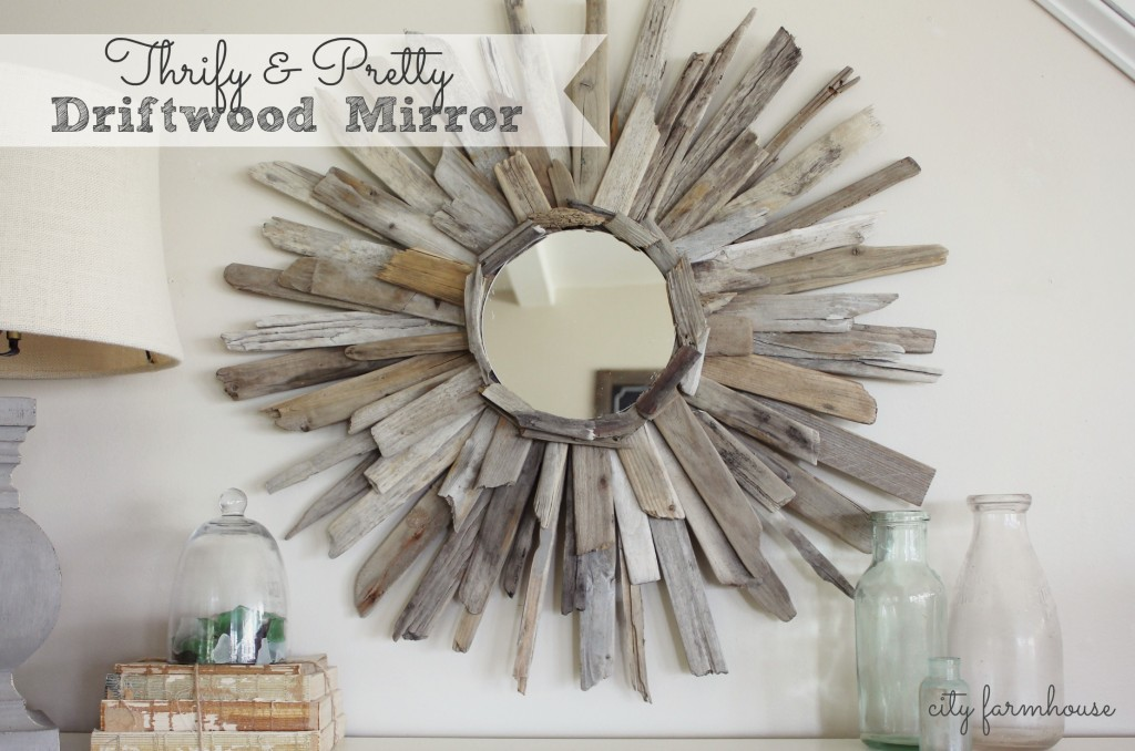 Fun Summer Projects - Driftwood mirror
