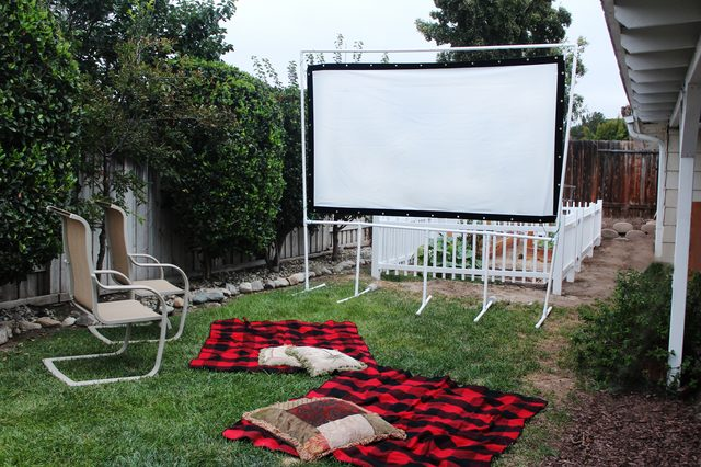 Fun Summer Projects - Movie Screen