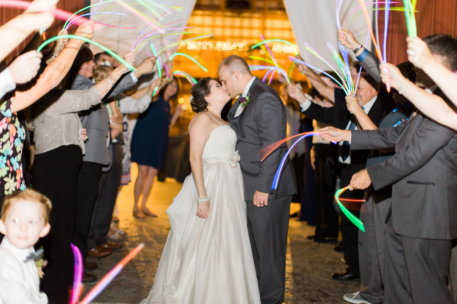 Glowsticks - A fun alternate exit! And they're fun for the dance floor!!