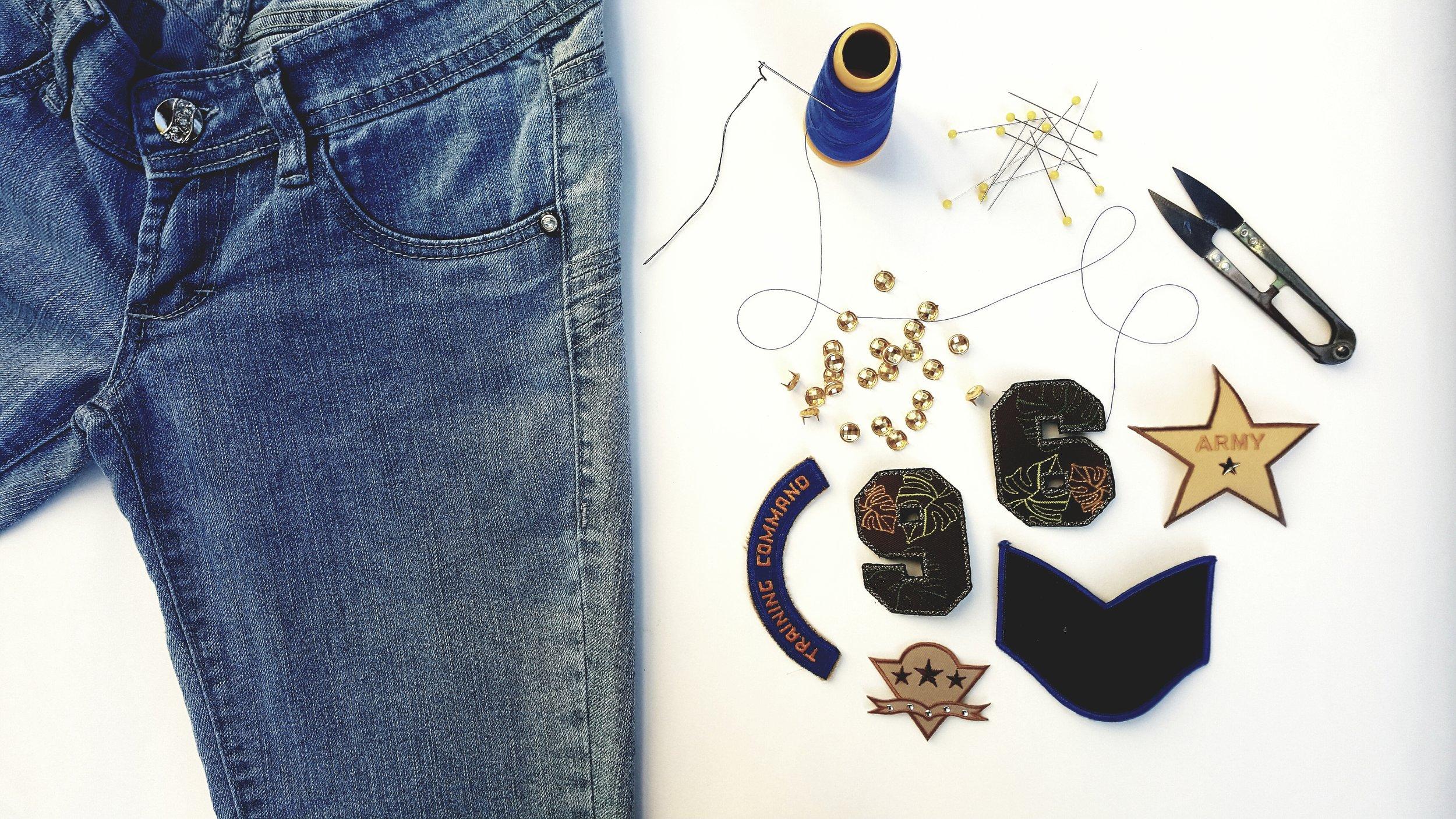 cómo decorar tus jeans o vaqueros