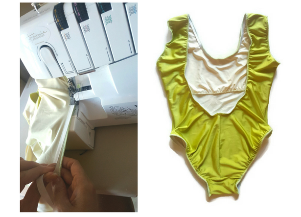 how to sew 80s inspired high cut swimwear swimsuit pattern