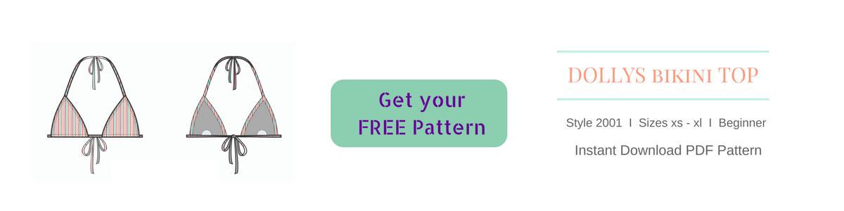free bikini pattern how to make a bikini diy triangle top