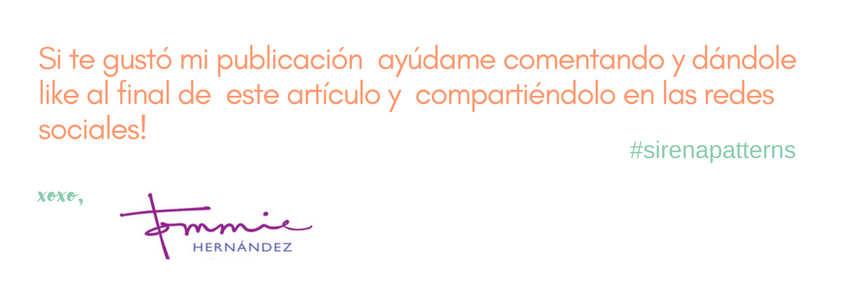 sirena patterns blog espanol