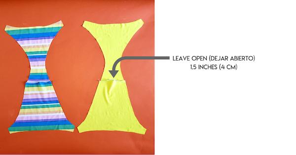 how to make a seamless reversible bikini bottom easy