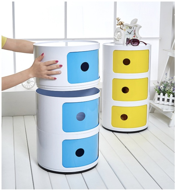 storage colorful furniture box