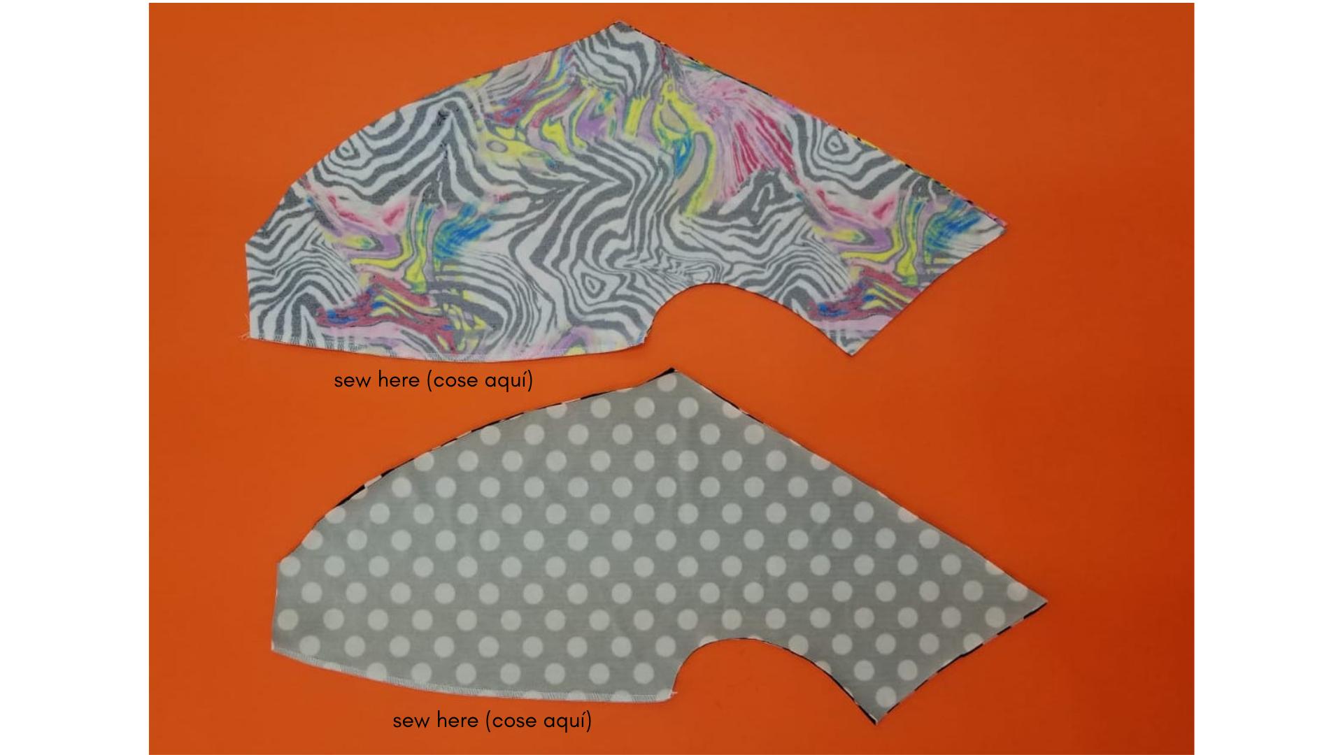 como coser traje de baño reversible