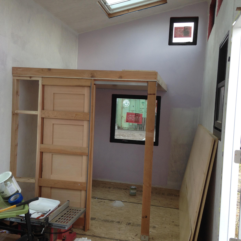 Studio Door Installed