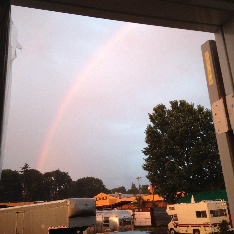 Rainbow Over Tinies