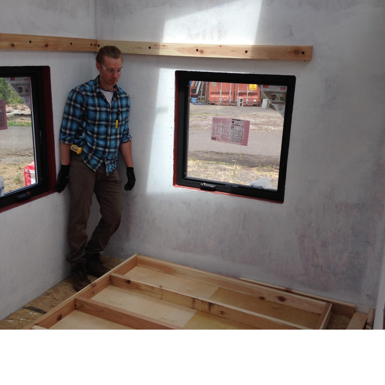 Loft Frame Ready to Raise