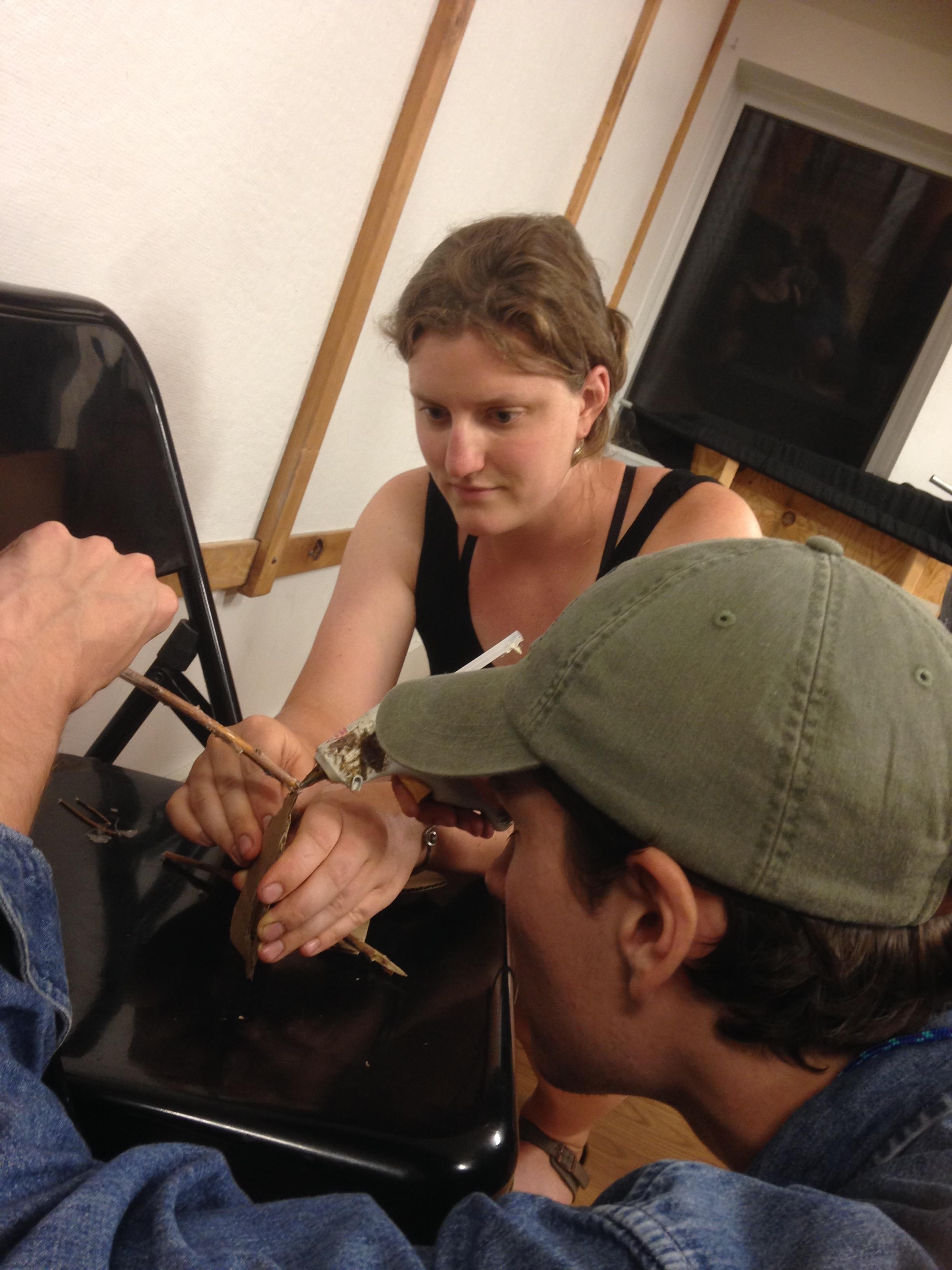 Kathleen & Holden Model Making.JPG