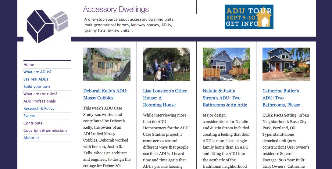 ADU Case Studies Project