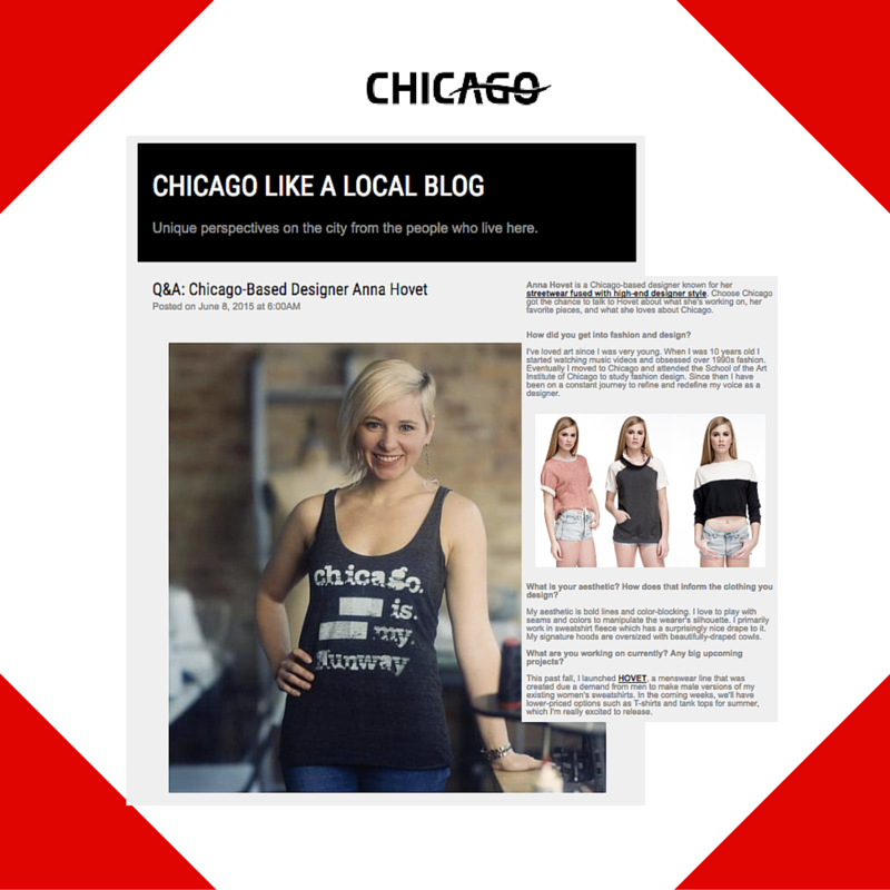 June 8, 2015 - Choose Chicago Placement for Anna Hovet