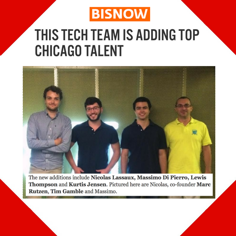October 4, 2016 - Bisnow Placement for Enodo Score