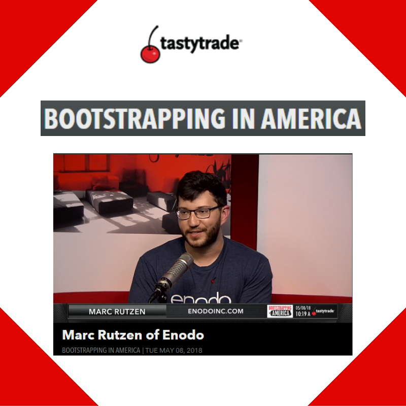 Live Interview w/ Bootstrapping in America for Enodo