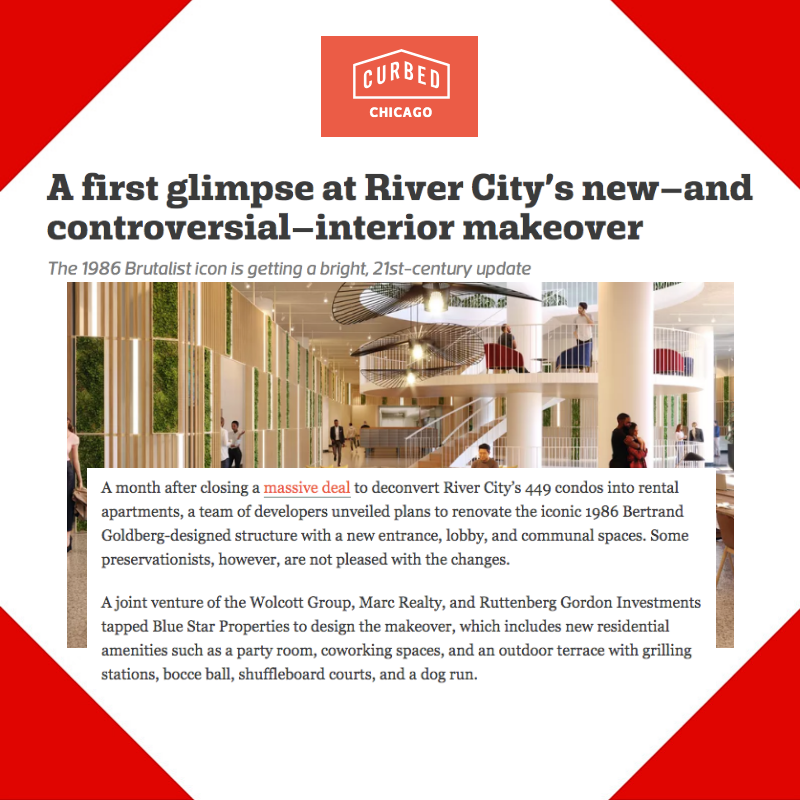 Press Placement for River City Apartments