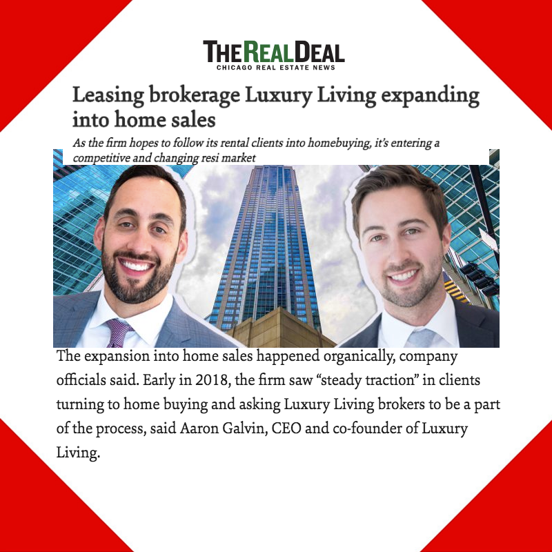 Press Placement for Luxury Living Chicago Realty