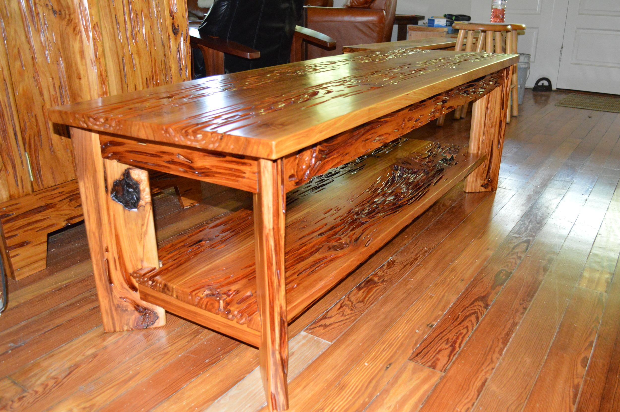 Sinker Cypress Coffee Tables Don Hostetler S Fine Cypress Furniture