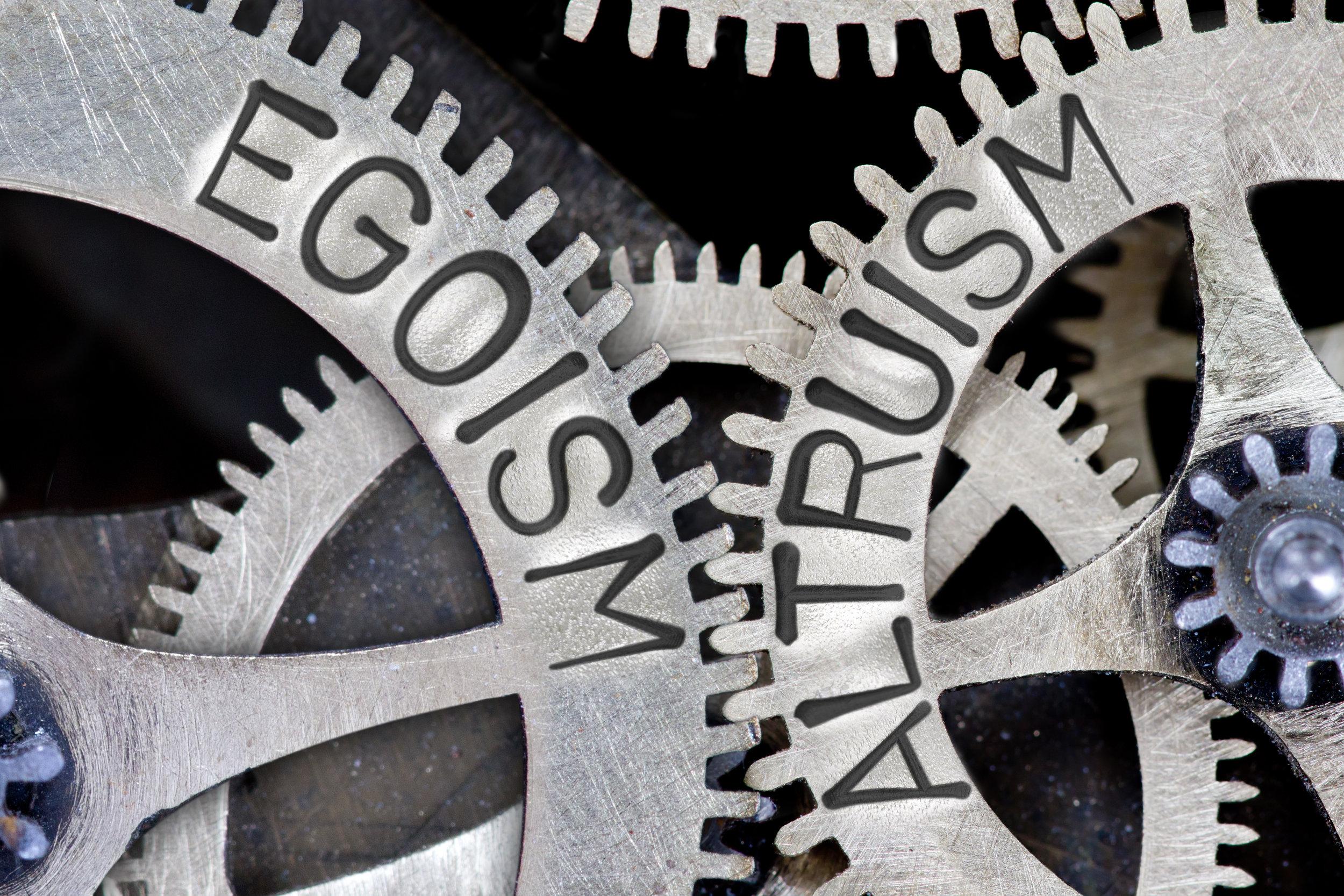 Egoism vs Altruism in Business