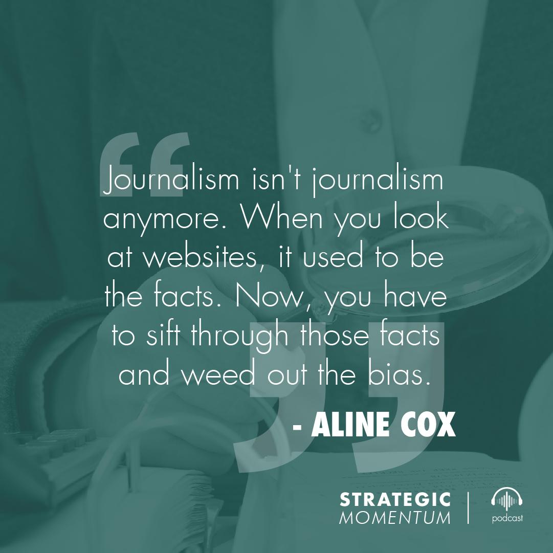 Aline Cox Quote | Strategic Momentum Podcast
