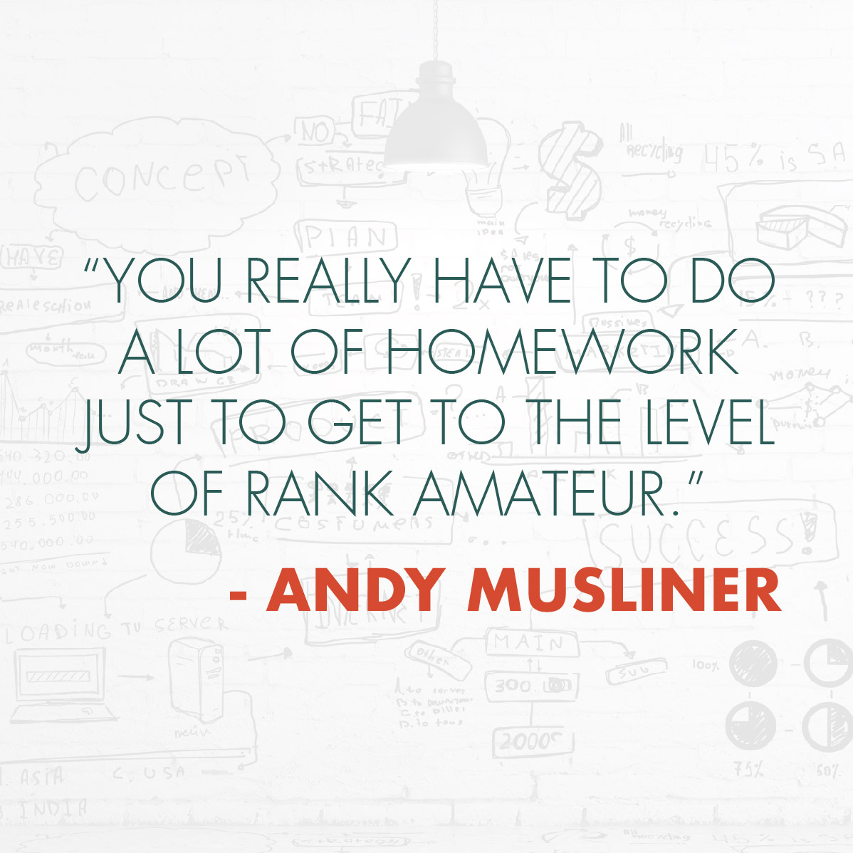 Andy Musliner Quote | Strategic Momentum Podcast