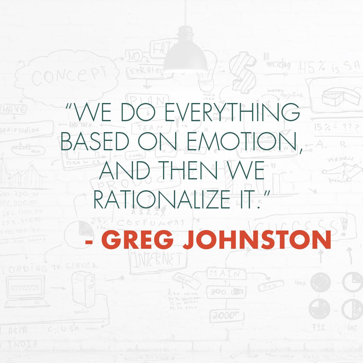Greg Johnston Quote | Strategic Momentum Podcast