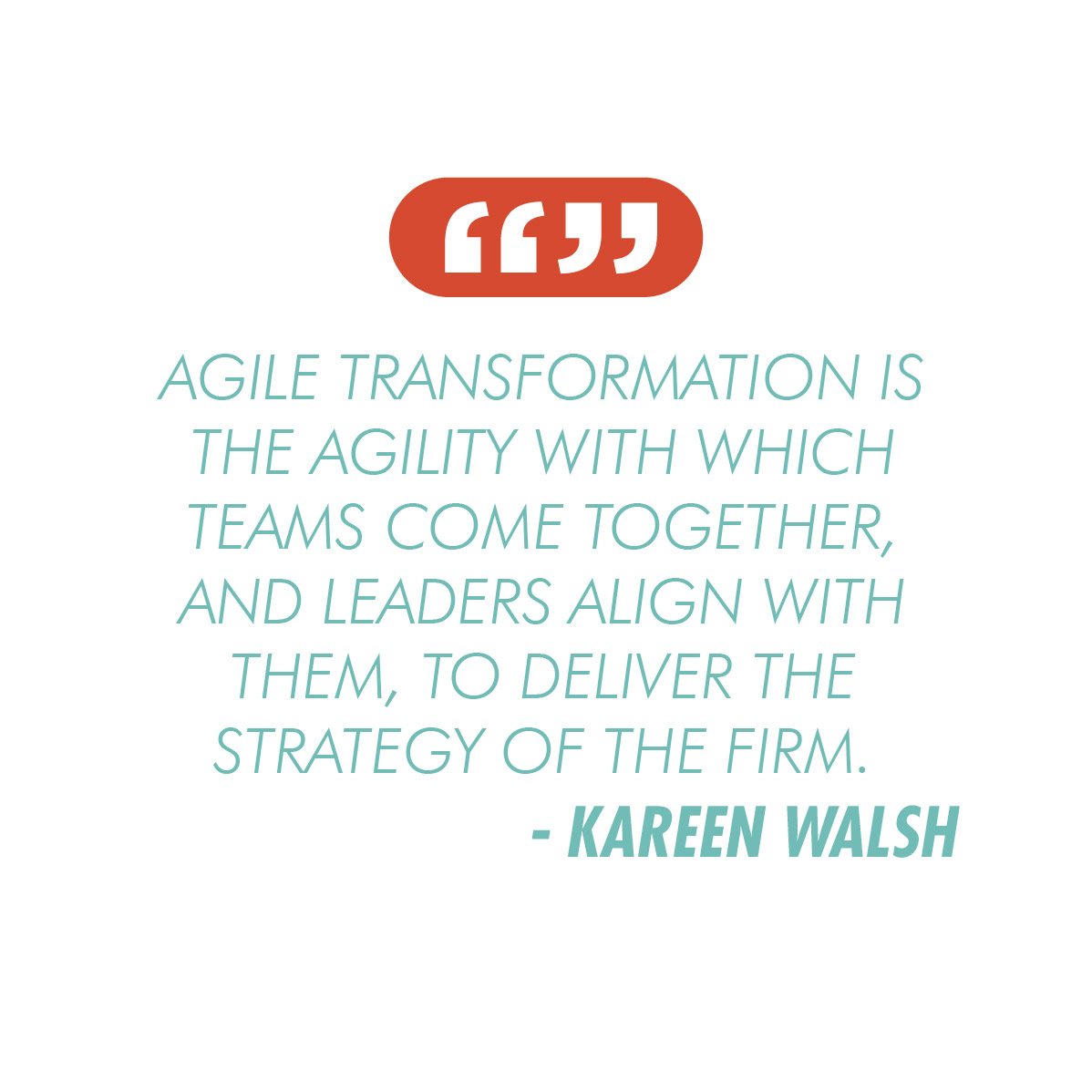 Kareen Walsh Quote | Strategic Momentum Podcast