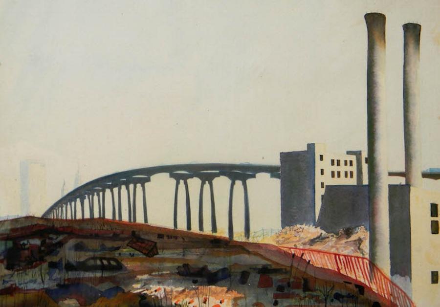 Gowanus Expressway 12x9 nfs