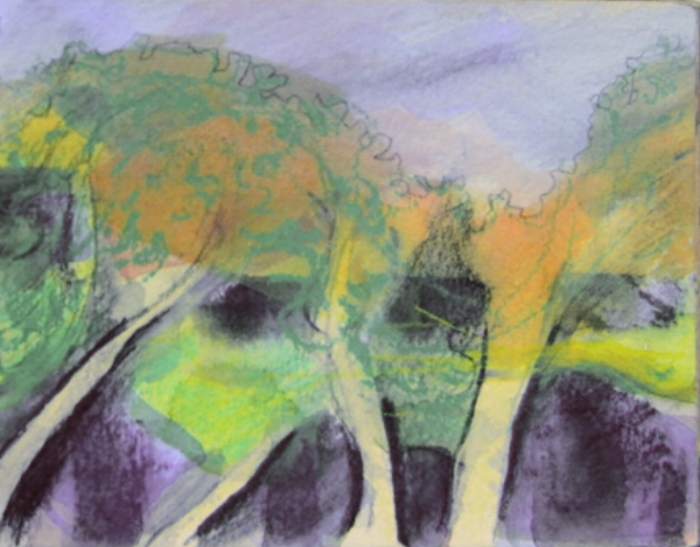 Tree Study#2 8x6 $150
